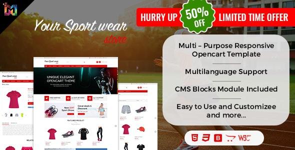Elegant - Multi-purpose Responsive OpenCart Theme - OpenCart eCommerce