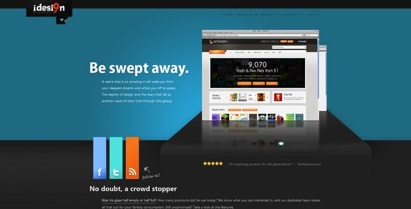 Stage -- A html template