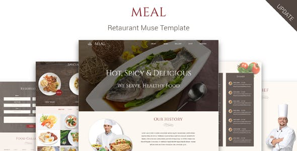 Download Meal_Restaurant Muse Template