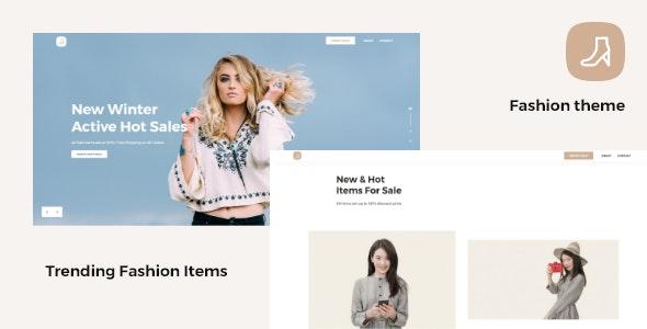 Fashion — Trending Fashion Items / Landing Page - Fashion Retail