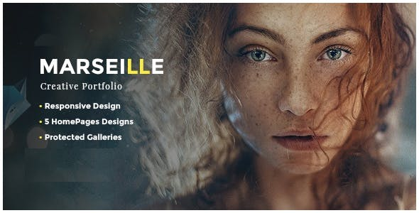 Marseille - Photography HTML Template