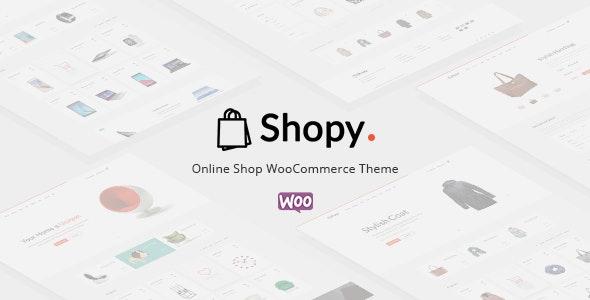 Shopy - Ecommerce WordPress Theme - WooCommerce eCommerce