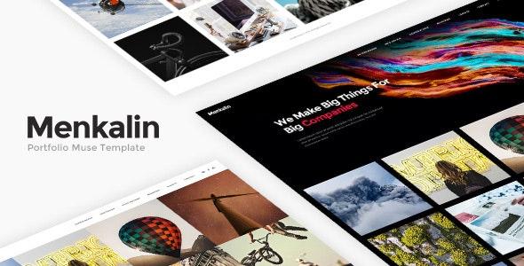 Menkalin - Portfolio Muse Template - Creative Muse Templates