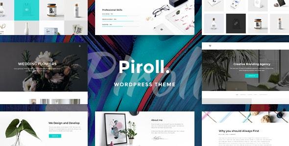 Piroll - Portfolio WordPress Theme - Portfolio Creative