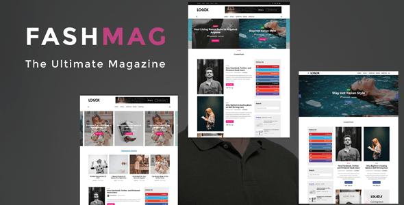 Fashmag - Lifestyle Blog & Magazine WordPress Theme - News / Editorial Blog / Magazine
