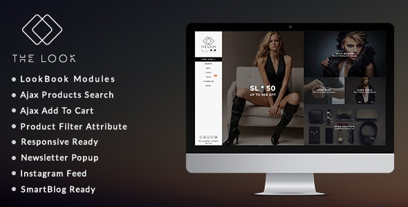 The Look - Clean, Responsive Fashion Boutique Prestashop Theme - Fashion PrestaShop