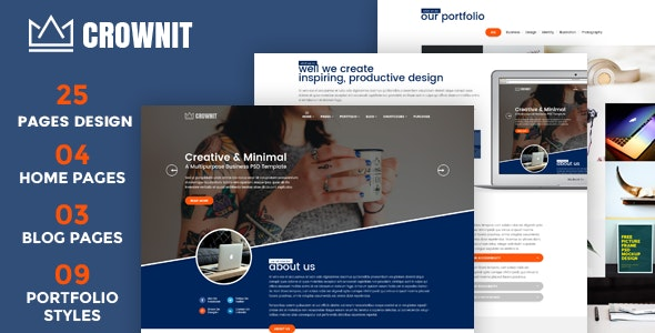 CrownIT - Responsive Multi-Purpose WordPress Theme - Business Corporate