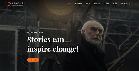 Circle - Multi-purpose Video, Film PSD Template