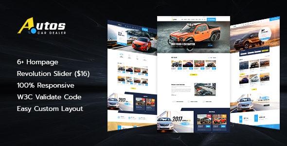 Autos - Automotive & Car Dealer HTML Template - Business Corporate