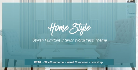Homestyle | Responsive Furniture Interior WordPress Theme - Retail WordPress