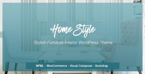 Homestyle | Responsive Furniture Interior WordPress Theme - Retail WordPress