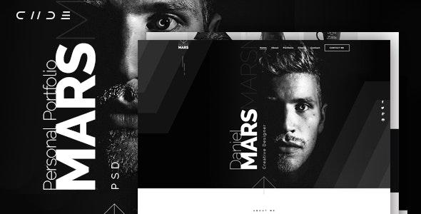 Mars - Personal Portfolio - Portfolio Creative