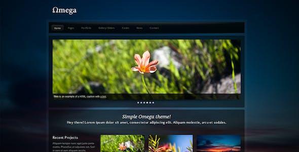 Omega - CSS&HTML Portfolio