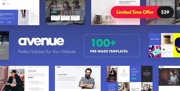 Avenue - Creative Multi-Purpose WordPress Theme - Creative WordPress