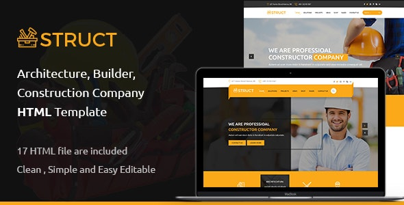 Struct - Construction HTML5 Template - Business Corporate