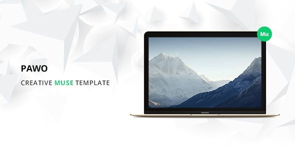 Pawo Multipurpose Muse Template - Creative Muse Templates