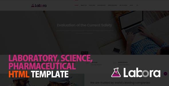 Labora - Business, Laboratory & Pharmaceutical HTML Template