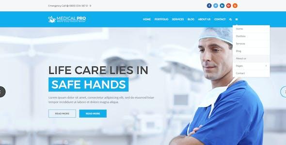 MedicalPro Psd Templates