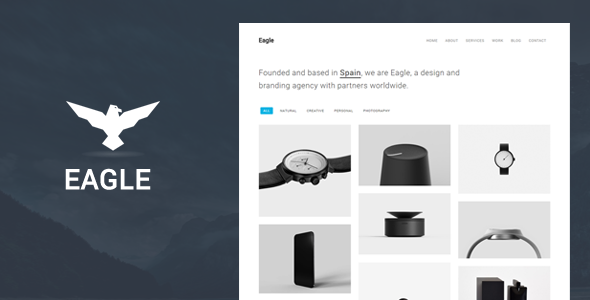 Eagle - Responsive Minimal WordPress Theme - Creative WordPress