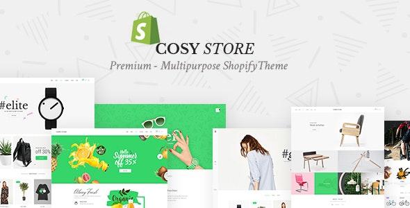 Cosy - Multipurpose Shopify Theme - Fashion Shopify