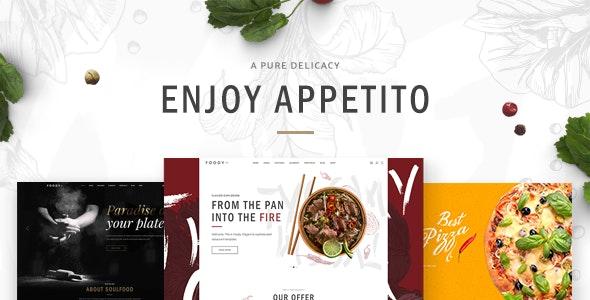 Appetito - Fast Food Restaurants & Cafés Theme - Restaurants & Cafes Entertainment