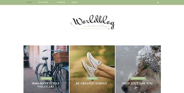 Worldblog - WordPress Blog and Magazine Theme