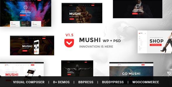 Mushi - Responsive Multi-Purpose & WooCommerce WordPress Theme
