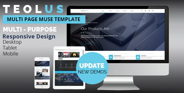 TEOLUS Multi-Purpose  Muse Template