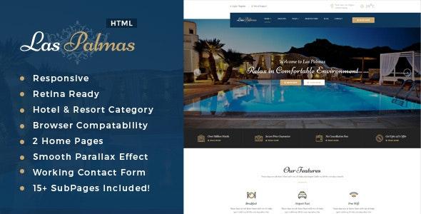Las Palmas | Hotel and Resort HTML5 Template - Travel Retail