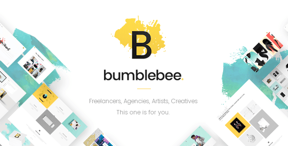 Bumblebee - Web Design Agency Theme - Portfolio Creative