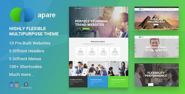 Apare - Responsive Multipurpose HTML5 Template - Business Corporate