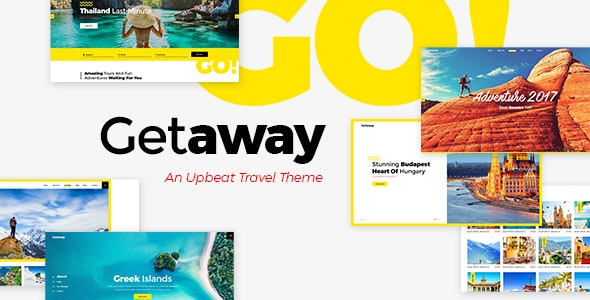 Getaway - Travel & Tourism Theme - Travel Retail