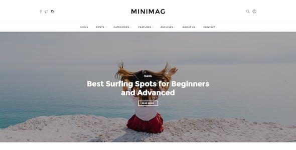 MINIMAG - Magazine & Blog PSD Template