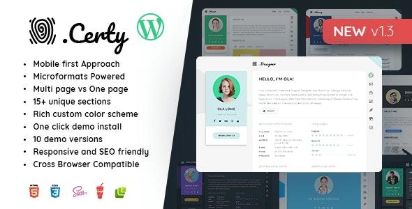 Creative Resume, CV & vCard - Portfolio Creative