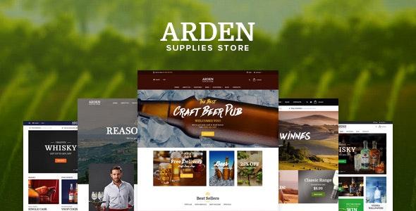 Pts Arden - Food & Beverage Prestashop Theme 1.7 with Page Builder - Entertainment PrestaShop