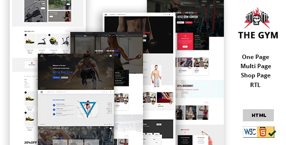 Gym | gym Yoga, Fitness, gym Personal Trainer & gym Shop Multipurpose HTML5 Template. - Health & Beauty Retail
