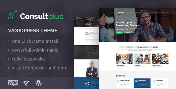 Consultplus : Business Consulting WP Theme - Business Corporate