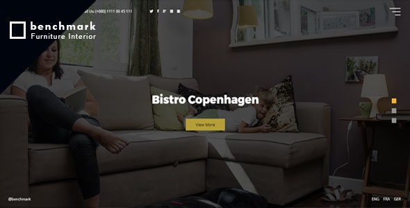 Roshanal Furniture HTML Template - Portfolio Creative