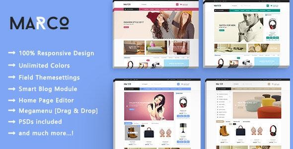 Marco - Shopping SuperMarket Responsive PrestaShop 1.7 Theme - Shopping PrestaShop