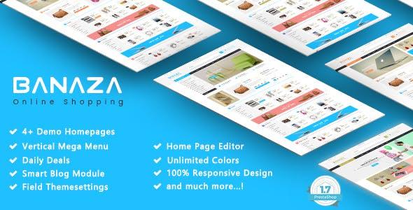 Banaza - Shopping SuperMarket Responsive PrestaShop 1.7 Theme