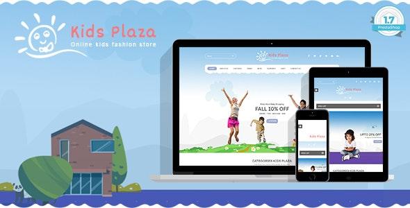 Kids Plaza - Child Fashion Shop PrestaShop 1.7 Theme - Health & Beauty PrestaShop