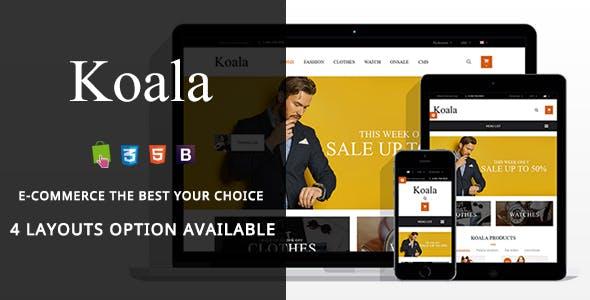 Koala - Modern Fashion Responsive PrestaShop Theme