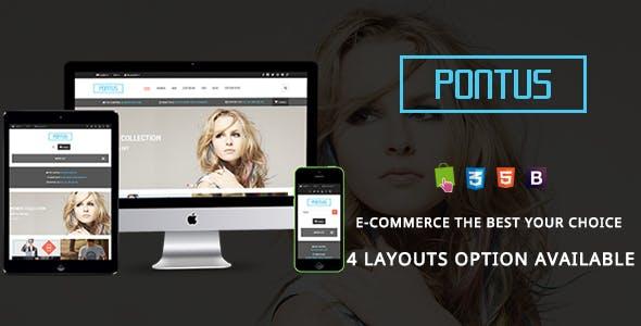 Pontus - Fashion Vest & Dress Responsive PrestaShop Theme