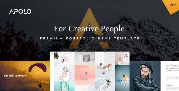 APOLO - Premium Portfolio HTML Template - Photography Creative