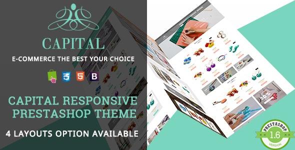 Capital - Handmade Shop Responsive PrestaShop Theme - Shopping PrestaShop