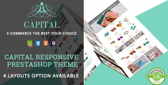 Capital - Handmade Shop Responsive PrestaShop Theme