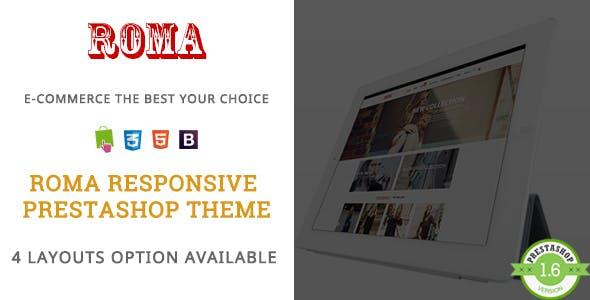 Roma - Fashion Vest & Dress Responsive PrestaShop Theme