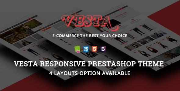 Vesta - Model Fashion Clothes Responsive PrestaShop Theme