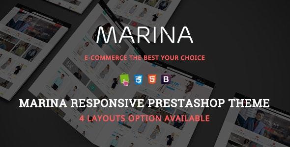 Marina - Clean Fashion Store Responsive PrestaShop Theme - Fashion PrestaShop