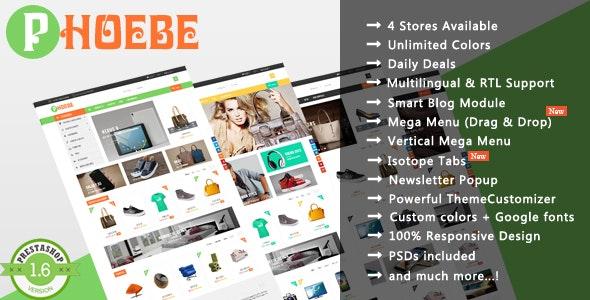 Phoebe - Shopping Cosmetic & Jewelry Responsive PrestaShop Theme - Shopping PrestaShop